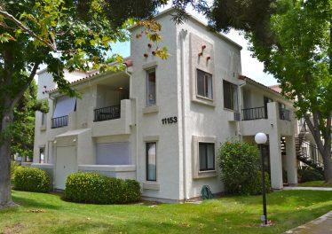 Mira Mesa condo building exterior Villas at Capricorn