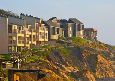 Exterior of Solana Beach Condo in Seascape Sur