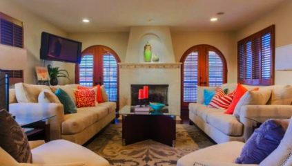 Manhattan Beach Home Living Room